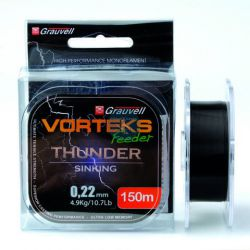 VORTEKS NYLON FEEDER THUNDER 150 MT 0.22mm 4.9KG