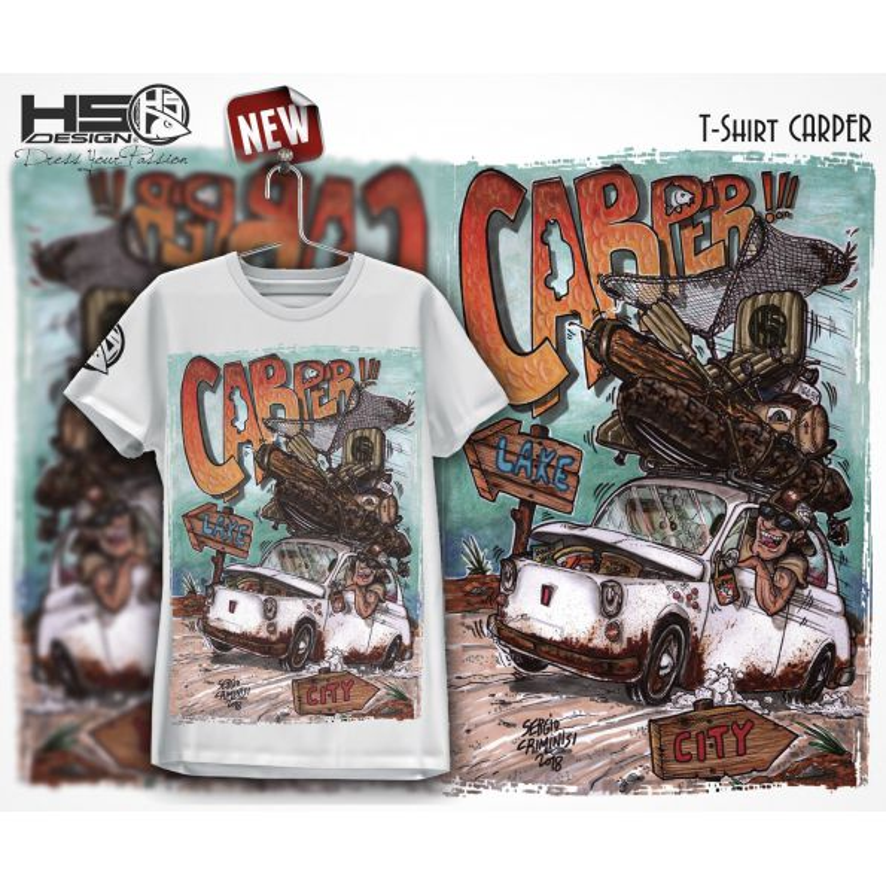 Hot Spot Desing Camiseta Carper (novedad verano 2019)
