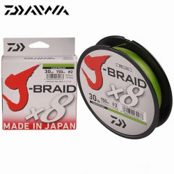 Daiwa Trenzado J-Braid X8 0.24mm / 150m / 9 kg