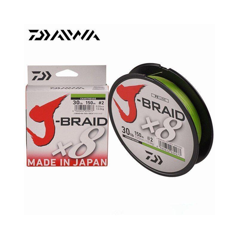 Daiwa Trenzado J-Braid X8 0.24mm / 150m / 18kg