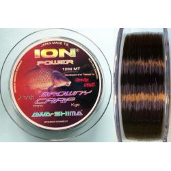 AWA-SHIMA ION P BROWNY CARP 0,37MM -24,300GR 1200 M