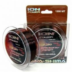AWA-SHIMA ION P BROWNY CARP 0,37MM - 1200 M