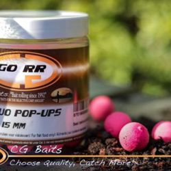 CG BAITS Fluro Pop ups 15mm GO RR