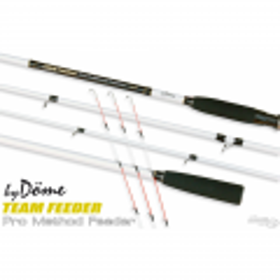Dome Gabor Caña TEAM FEEDER Pro Method Feeder 390H 40-100gr