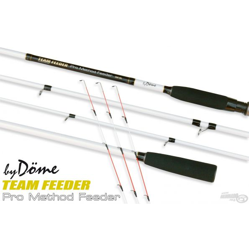 Dome Gabor Caña TEAM FEEDER Pro Method Feeder 360M 25-70gr