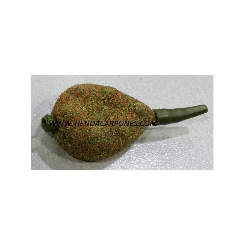 Carpones Gripper inline 105 gr verde