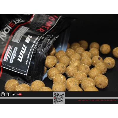 Trybion HOMER Boilies 18mm 800gr (mantequilla, ácido butírico, insectos Yy piña)