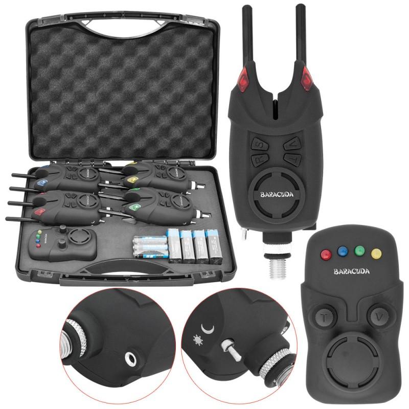 Baracuda Kit 4 alarmas SG-K2+Receptor
