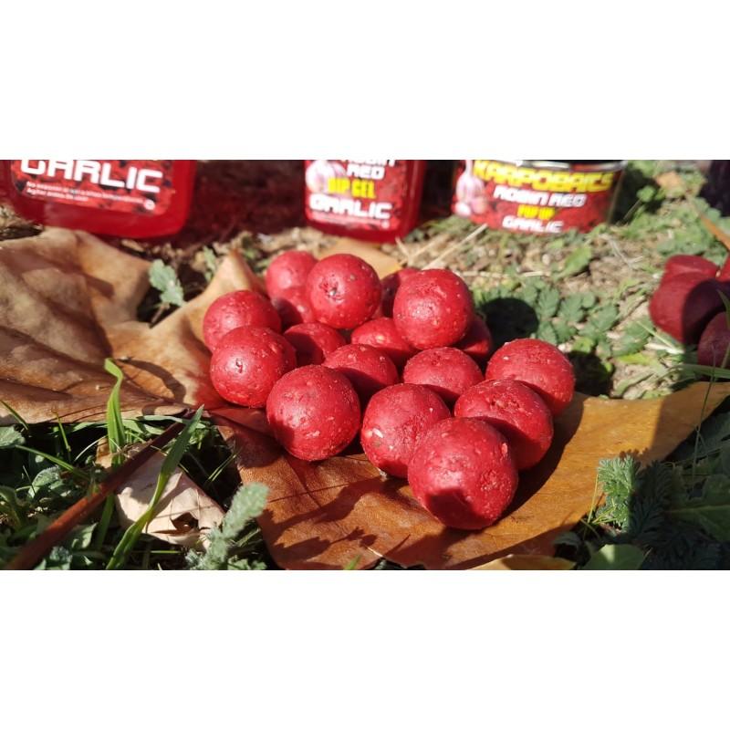 KarpoBaits Boilies Robin Red-Garlic 20mm 1kg (AJO-ROBIN RED)