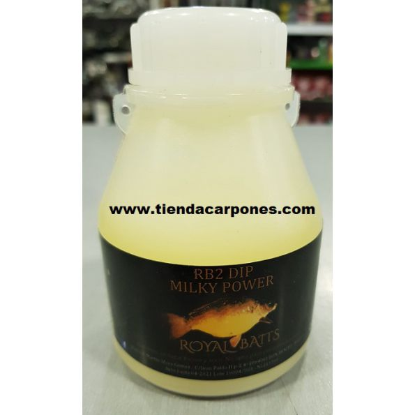 Royal Baits Premium Dip RB2 200ml (Milky Power)