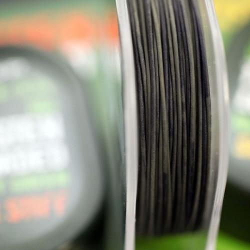 E.S.P Bajo De Linea Tungsten loaded Verde Semirigido 20lb 10m