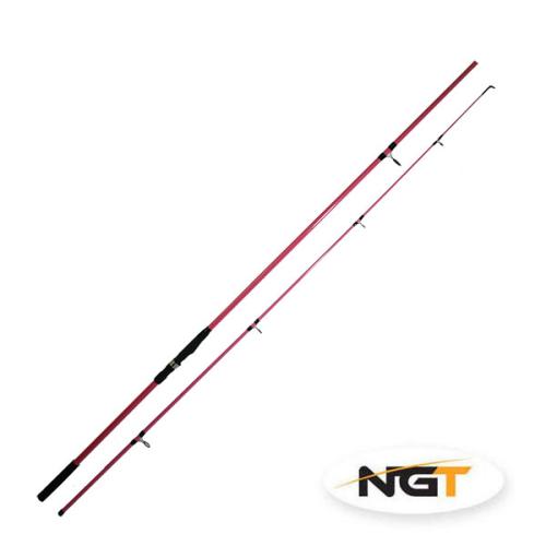 Combo de 2 CAÑAS NGT Pink Carp Rod (12 (3,60m / 2.75lbs)