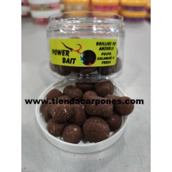PowerBait Hookbait Pulpo Calamar&Fresa Dumbell&Boilies 14mm