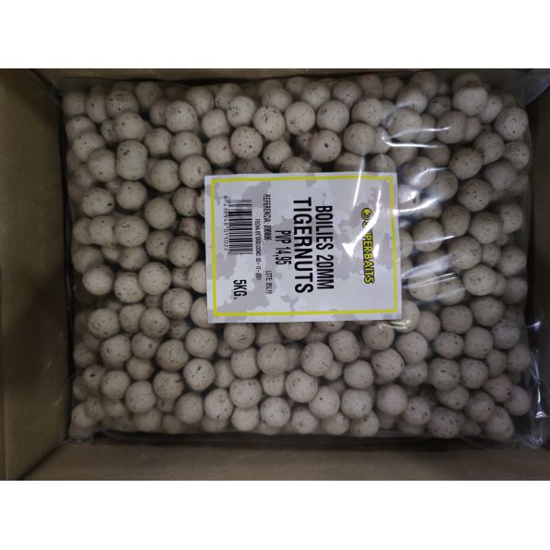 Superbait Boilies 20mm 5 KG Tigernut (Chufa)