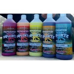 STARBAITS GARLIC FISH (PESCADO-AJO) LIQUID DIP/GLUG SQUIRTZ 1 LITRO