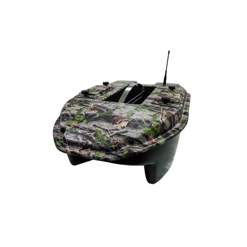 Carpio Barco Cebador C3H Camuflaje (Sonda Color-Gps) + Bolsa de Transporte