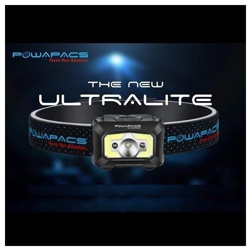 POWAPACS ULTRALITE FRONTAL 450 LUMENES