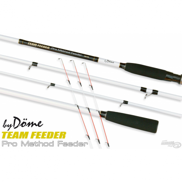 Dome Gabor Caña TEAM FEEDER Pro Method Feeder 330L 20-50gr