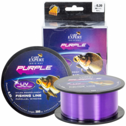 CARP EXPERT Nylon UV, PURPLE, 1000M 0,30mm/12.50kg