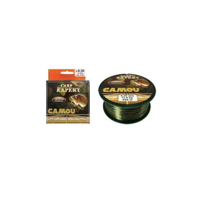 CARP EXPERT HILO CAMOU 0,30mm/11.9KG 600m