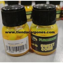 Poisson Maiz Flotante Con aroma GARLIC (Ajo) 15 unid 30ml