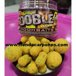 Peralbaits Hook Baits DobleM MELON-MIEL) (Boilies y Dumbell)