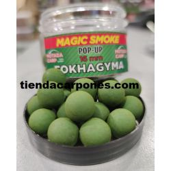Motabacarp Boilies Flotantes Magic smoke 15mm Fokhagyma (AJO)