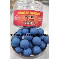Motabacarp Boilies Flotantes Magic smoke 15mm KRILL