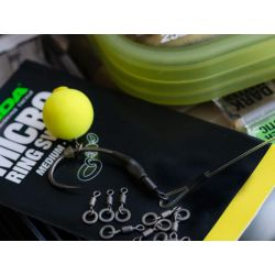 Korda Micro Rig Ring Swivels 10 unid