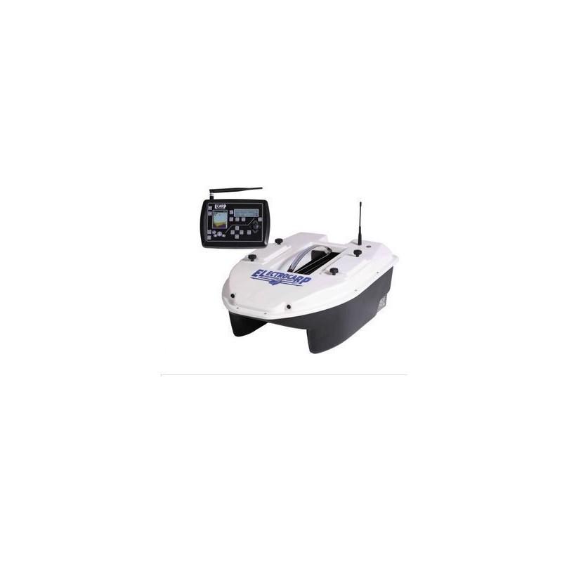 CARPIO Barco Cebador C3 blanco+SONDA Y GPS