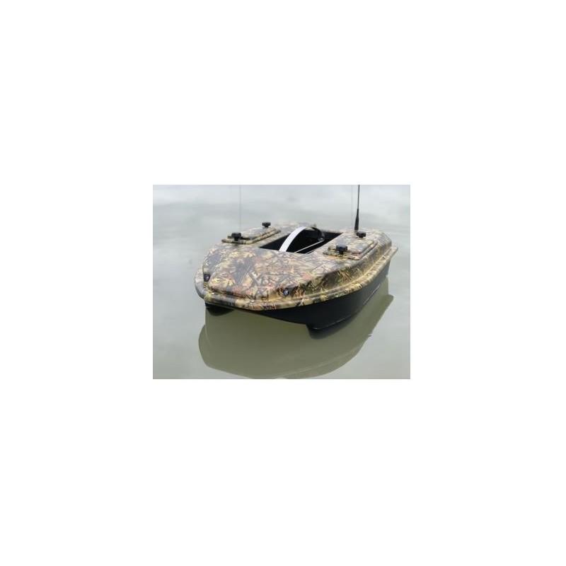 CARPIO Barco Cebador C3 camu 2+SONDA A COLOR Y GPS