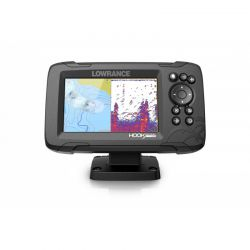 Sonda GPS Plotter Lowrance HOOK Reveal 5 HDI 83/200 + Bateria PoweryMax Ready PX5