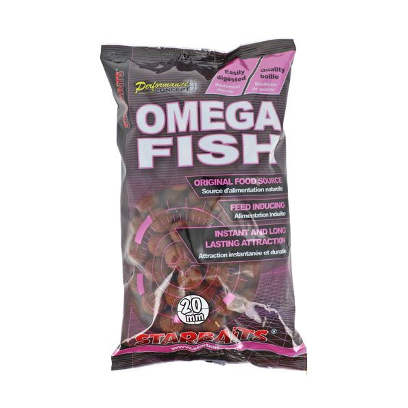 Starbaits Performance Concept Boilies 14mm Omega Fish 1kg