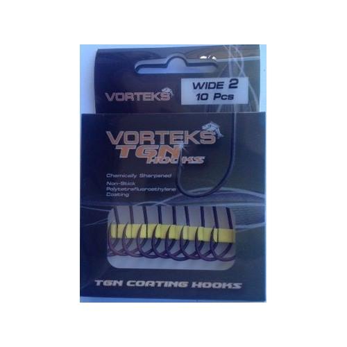 Vorteks anzuelos TGN wide gape nº4 10unds