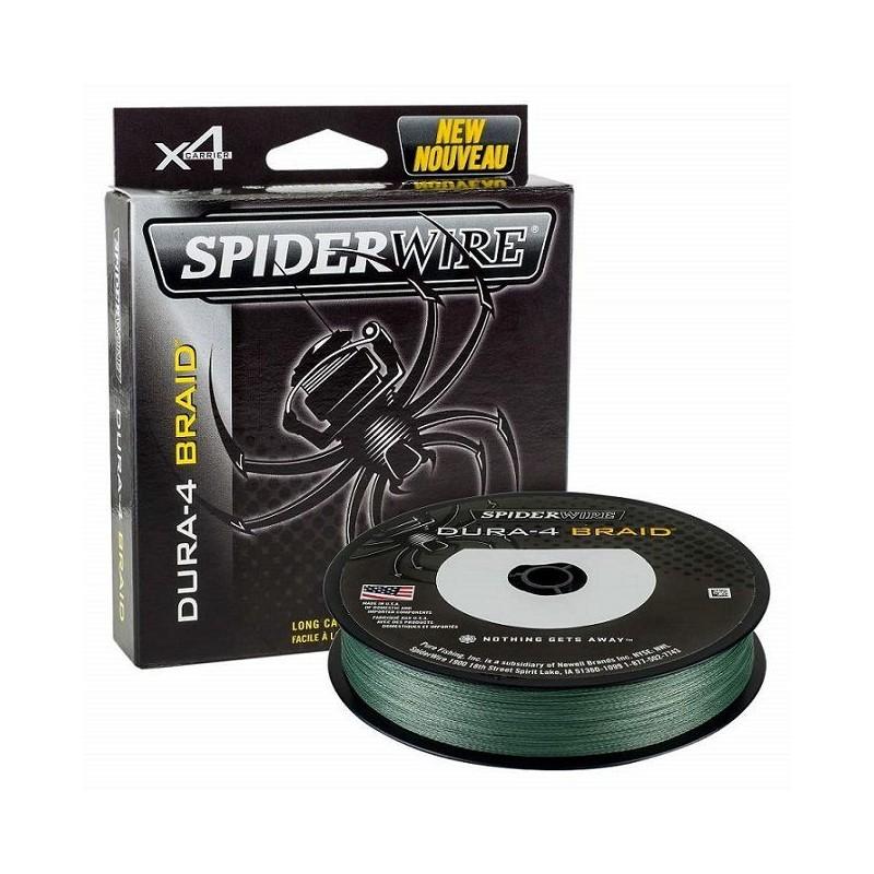 SpiderWire Hilo Trenzado 0.30mm Dura-4 Braid 300m 29kg Verde