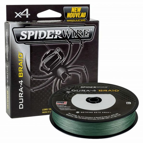 SpiderWire Hilo Trenzado 0.35mm Dura-4 Braid 300m 35kg Verde