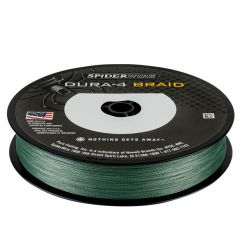 SpiderWire Hilo Trenzado 0.40mm Dura-4 Braid 300m 45kg Verde