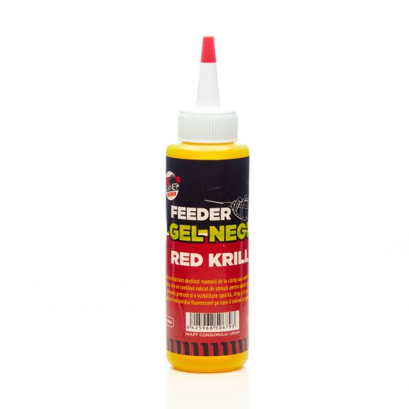 SENZOR PLANET GEL NEON FEEDER RED KRILL 100ml
