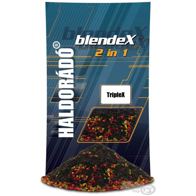 HALDORÁDÓ Engodo BlendeX 2 in 1 - TripleX 800gr