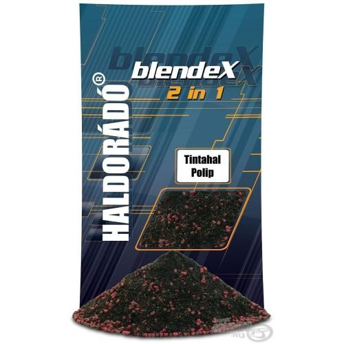 HALDORÁDÓ Engodo BlendeX 2 in 1 - Squid&octopus 800gr