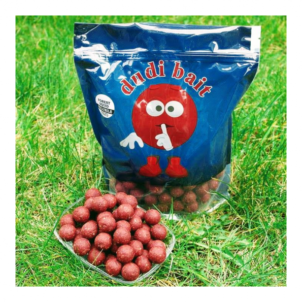 DUDI BAITS BOILIES FOREST SQUID 20MM (SOLUBLE)