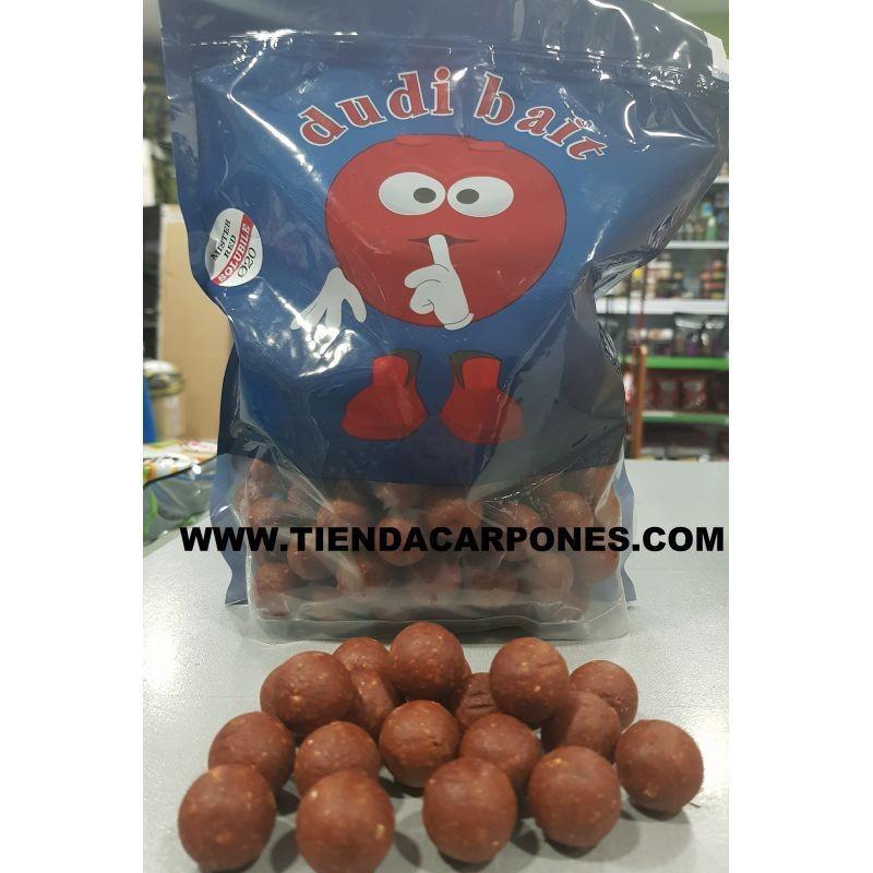 Dudi-Bait Boilies Solubles 20mm MISTER RED 1kg