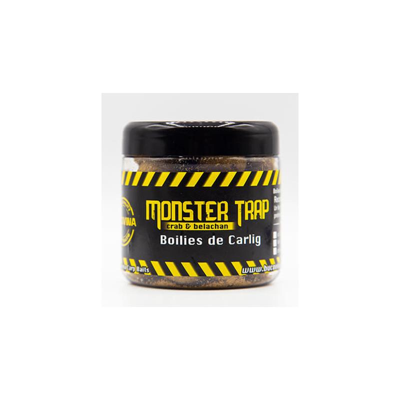 Bucovina Bait Boilies Monster Trap 16-20mm solubles (CRAB&BELACHAN)
