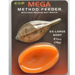 ESP Mega Method Feeder & Mould Large 100g (PLOMO + MOLDE)