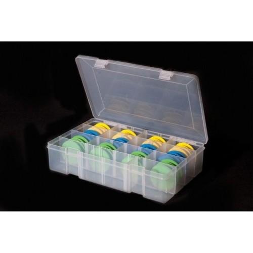LEEDA RIg Box + 24 Foam (Caja Para Bajos +24 foam)