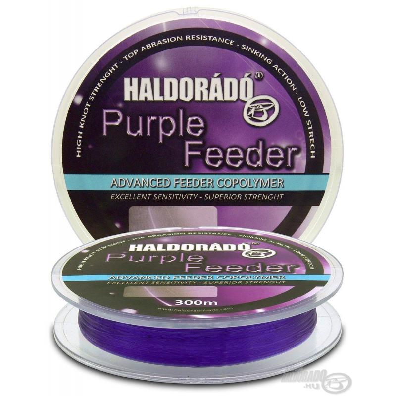 HALDORADO PURPLE FEEDER 0,22 mm 300M