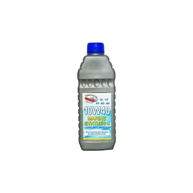 Aceite sintético Nauticol 10w40 1lt