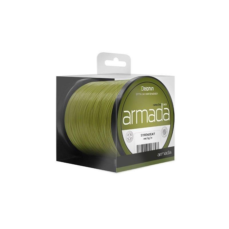 Delphin ARMADA Carp / camo 600m 0,35mm 20,3lbs
