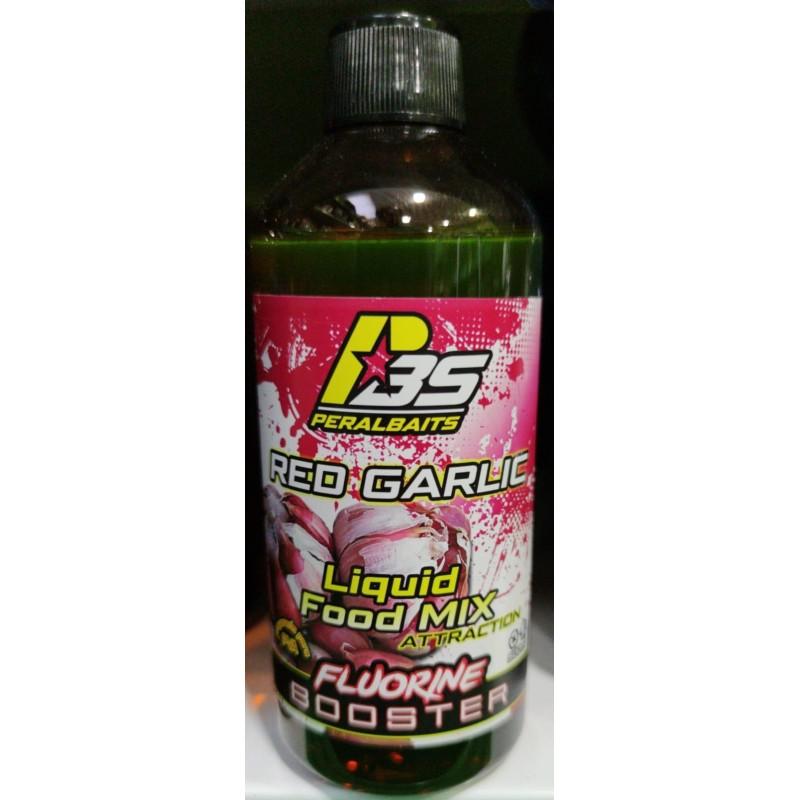 Peralbait Booster FLUORINE Red Garlic 500ml (AJO)