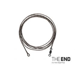 THE END Leadcore Montados 1mt + swivel rig / 3 unidades